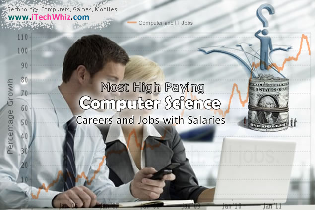 Most High Paying Computer Science Careers and Jobs with Salaries