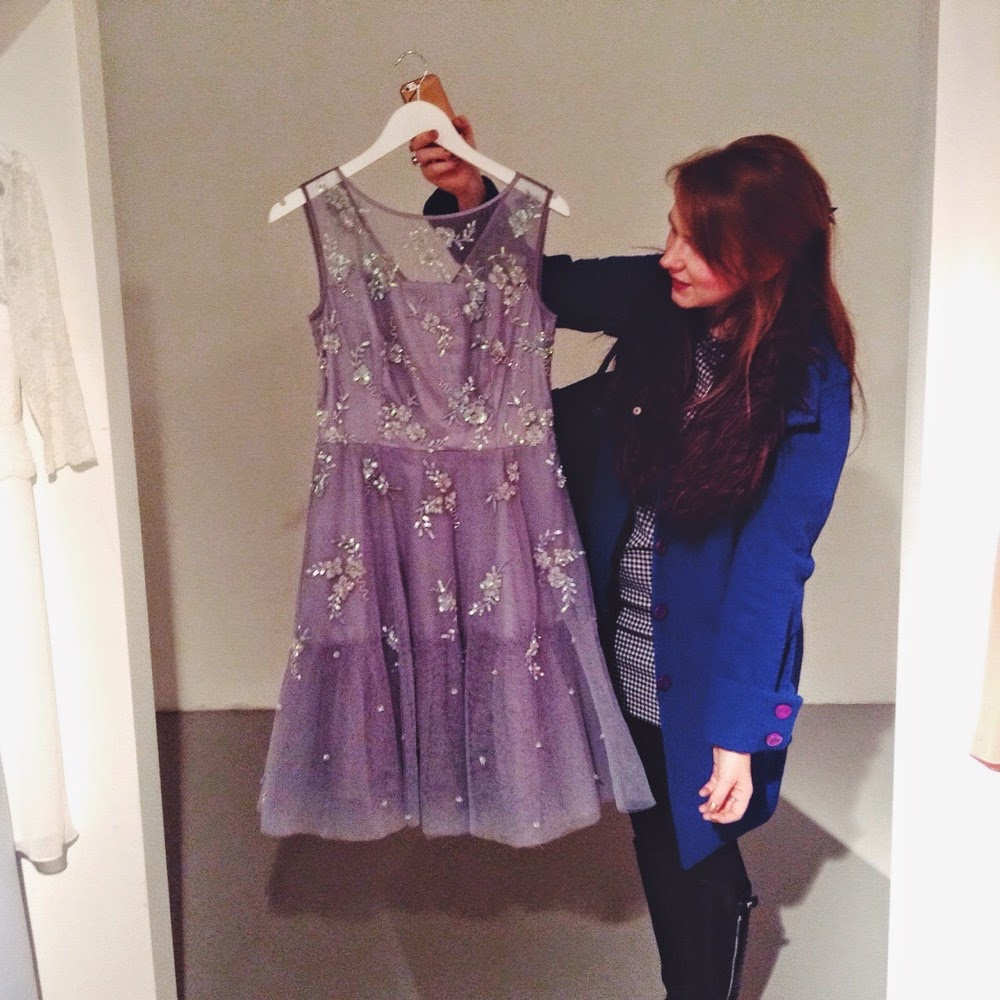 debenhams ss15 press day dress sparkle blogger pick
