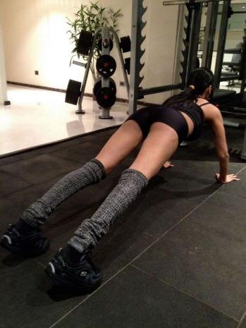 sherlyn chopra workout unseen photo gallery