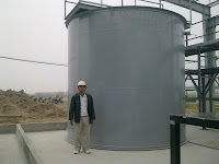 Bồn composite chứa hóa chất cỡ lơn