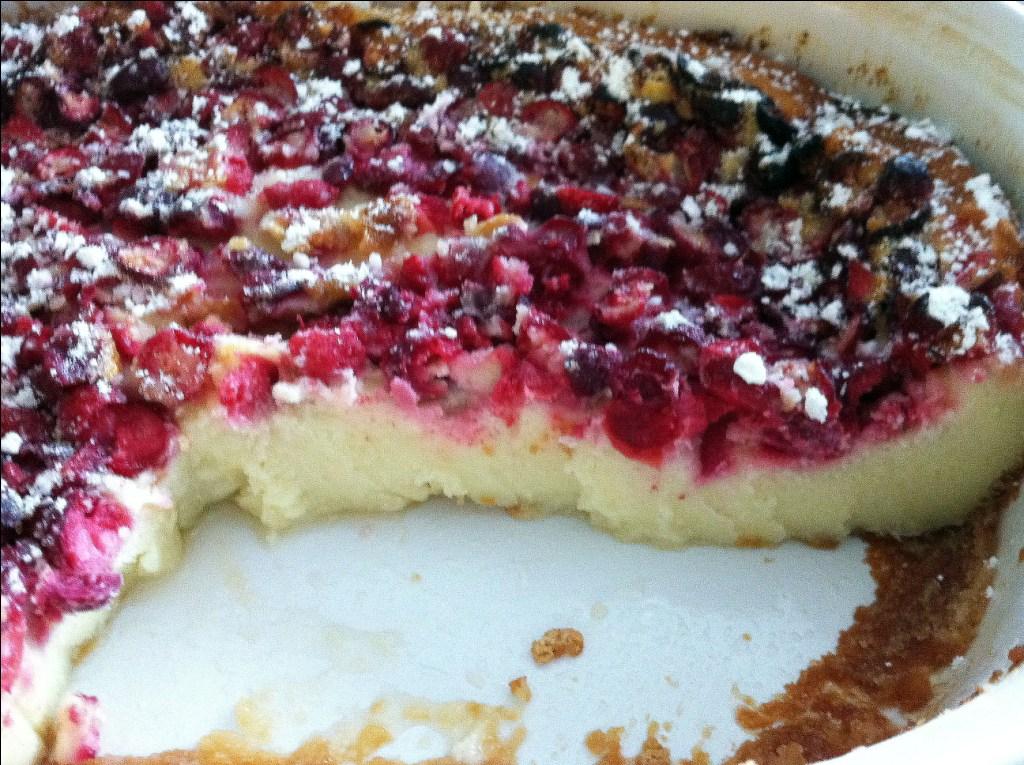 ButchInTheKitchen: Cranberry Clafoutis