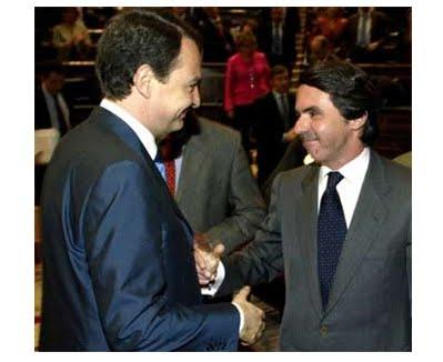 Zapatero y Aznar