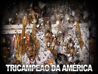 Santos Campeão da Libertadores 2011 - Papel de Parede