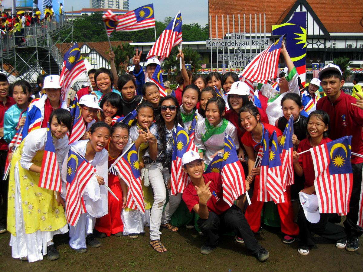 Kami bangga menjadi Anak Malaysia...kan saya dah kata..semangat ...