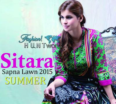 Sitara Sapna Lawn 2015