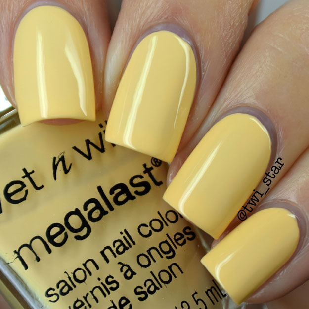 Wet N Wild California Dreaming Bee-U-Tiful polish swatch