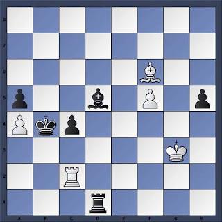 Echecs à Bienne : Position après 47.f5??