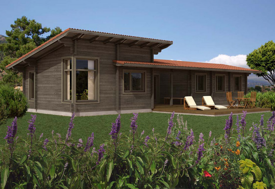 Well Designed Beautiful Wooden Bungalow Timber Frame Houses
