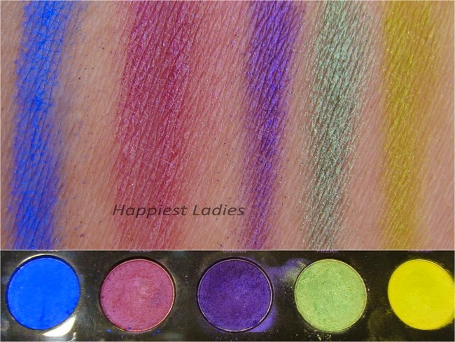 Urban Decay Electric pressed pigment swatch