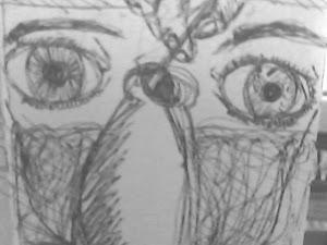 Los ojos del alma y el tintero negro del sufrimieto