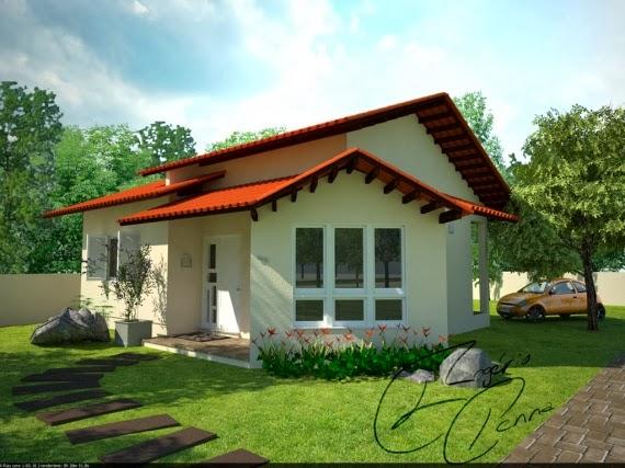Gambar Rumah Kecil Sederhana