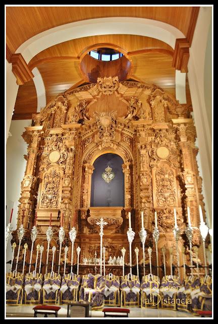 Altar Señor de las Tres Caídas de Triana 2013 Capilla de los Marineros