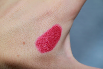 estee lauder pure color velvet lipstick fuchsia velvet matte test avis essai blog id=