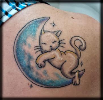 Tattoos Femininas de Gato