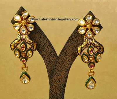 Kundan Gold Earrings