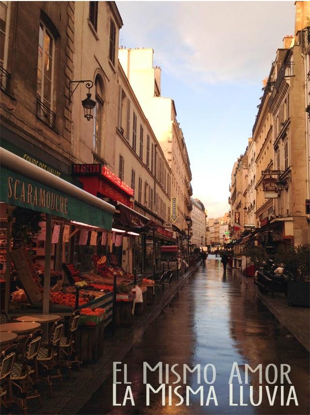 Photo Paris sous la pluie