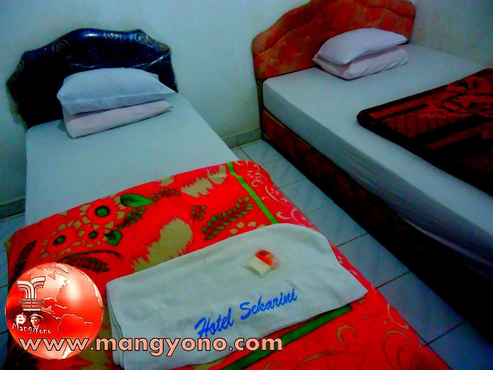 Ini Kamar Hotel Skarini, Muara Badak, Kutai Kartanegara, Kalimantan Timur.