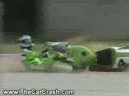 200 MPH Motorcycle Crash