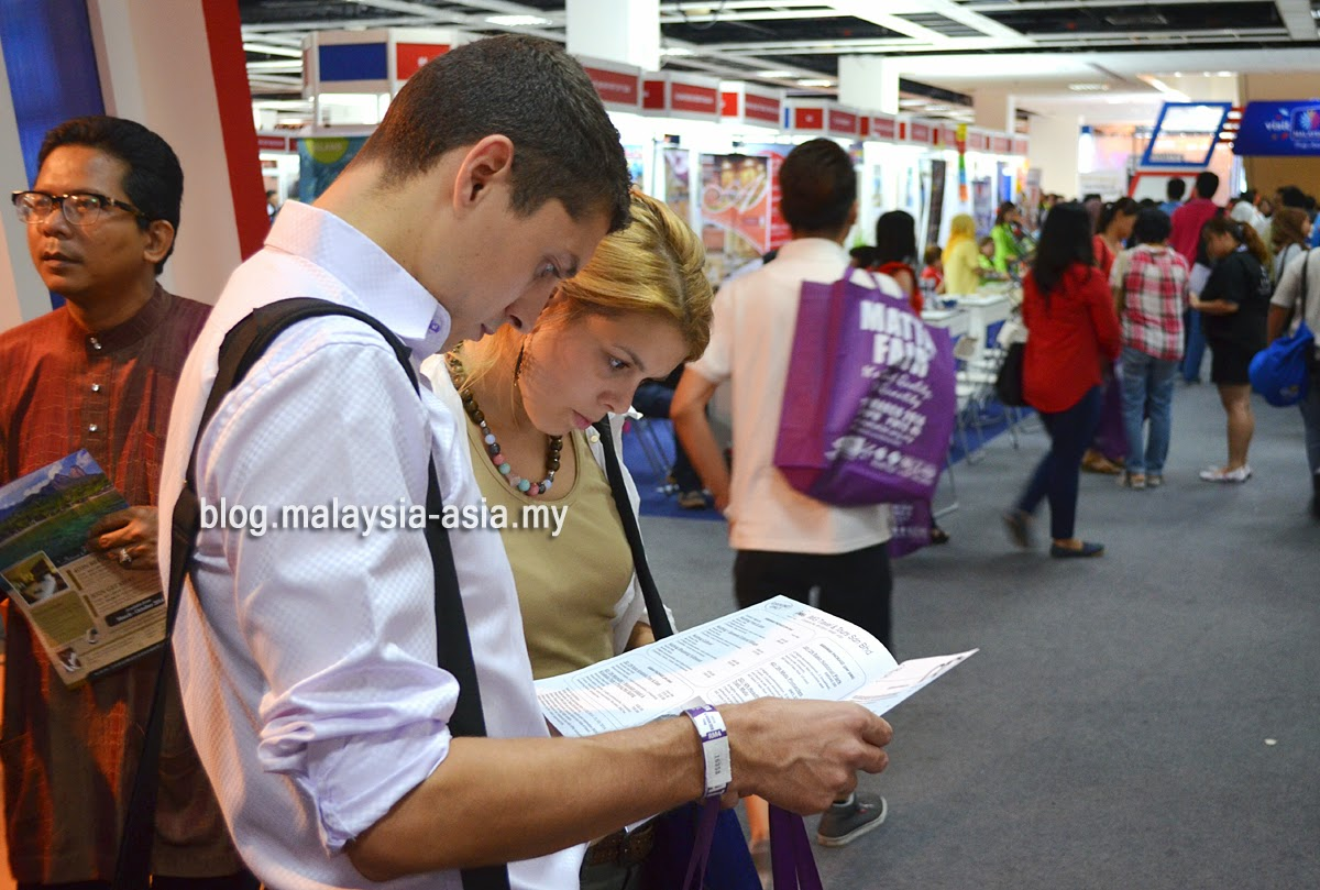 Visitors to Matta Fair