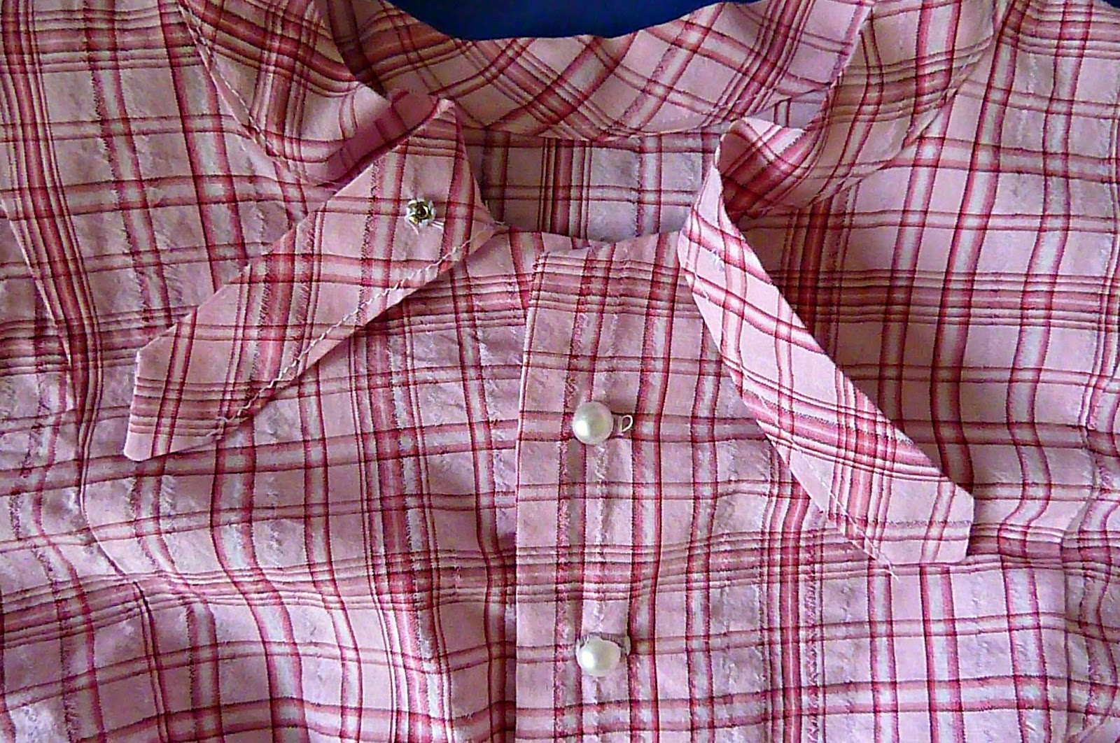 mrs pettigrew blouse, 40s blouse, vintage blouse