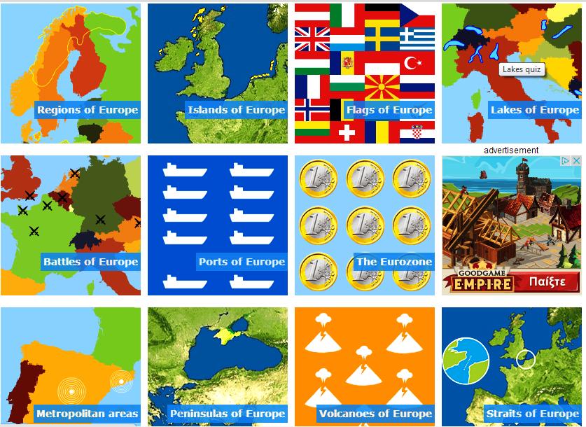 σου αρέσει η Γεωγραφία;