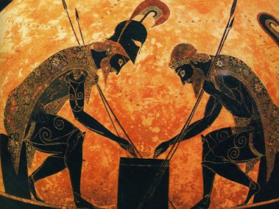 achilles the hero of the ancient greek times As was true for the most famous of the ancient heroes of greek myth and legend, achilles was raised by the like any good greek hero, achilles first chose.