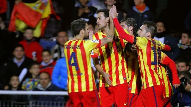 برشلونة يفك عقدة القميص الاصفر ويهزم قرطاجنة برباعية