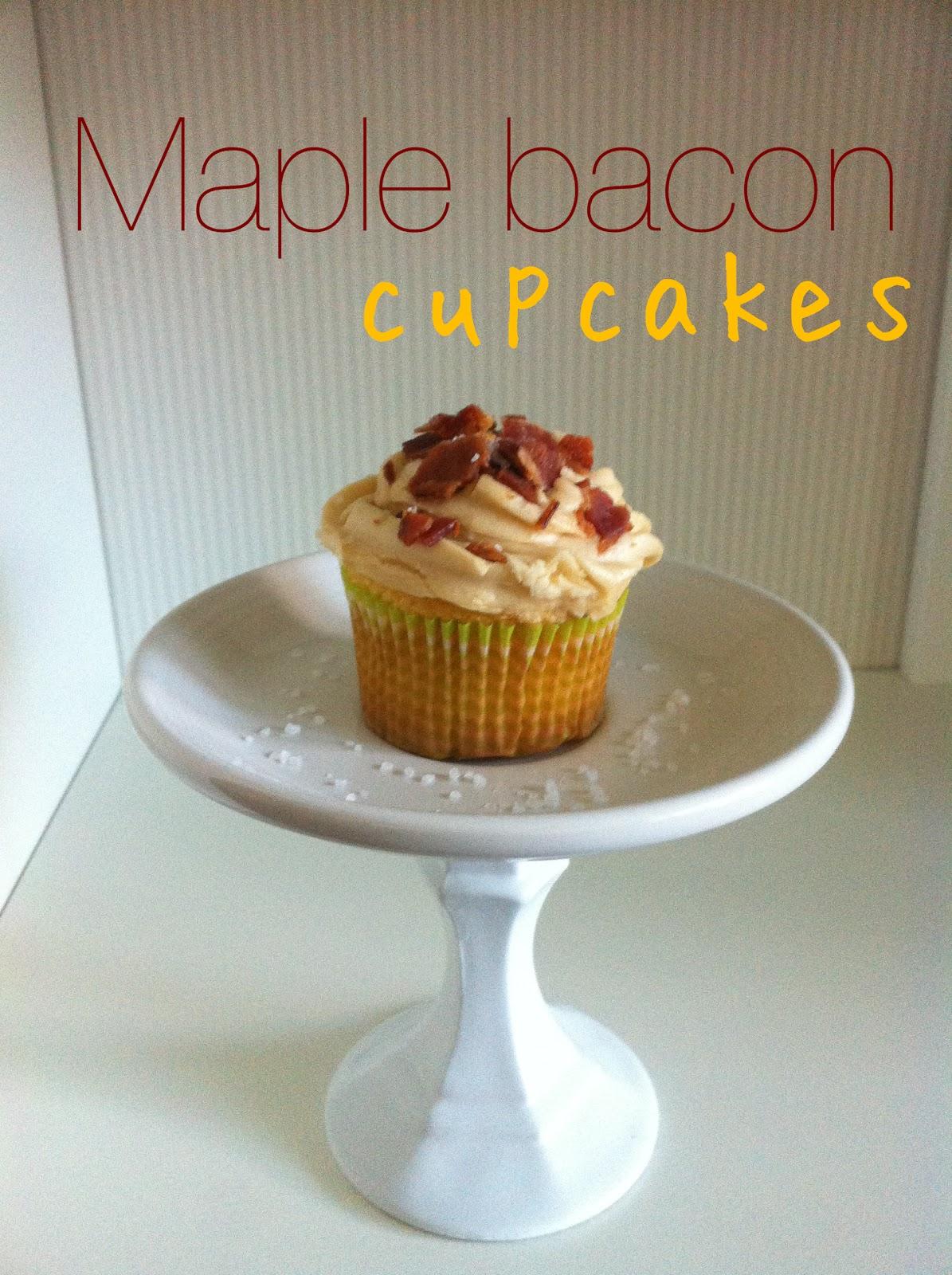PinterTest Kitchen- Maple Bacon Cupcakes | Joy's Hope