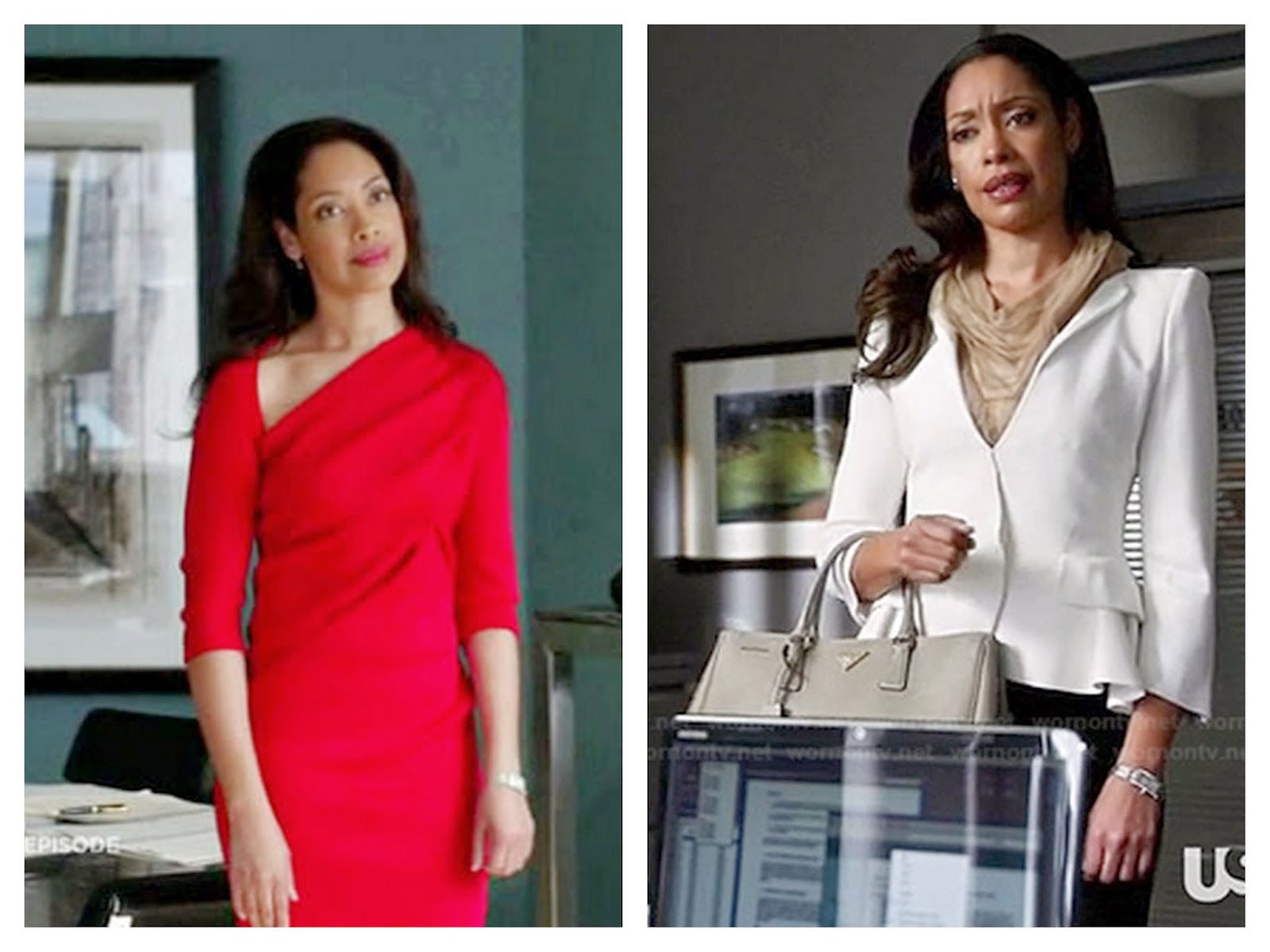 Jessica Pearson, Suits, work inspiration, corporate chic