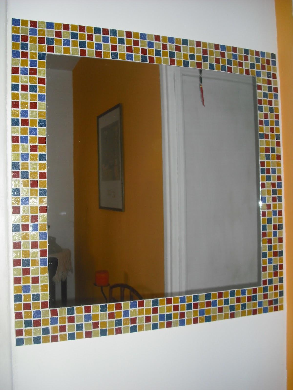 espejos en mosaico