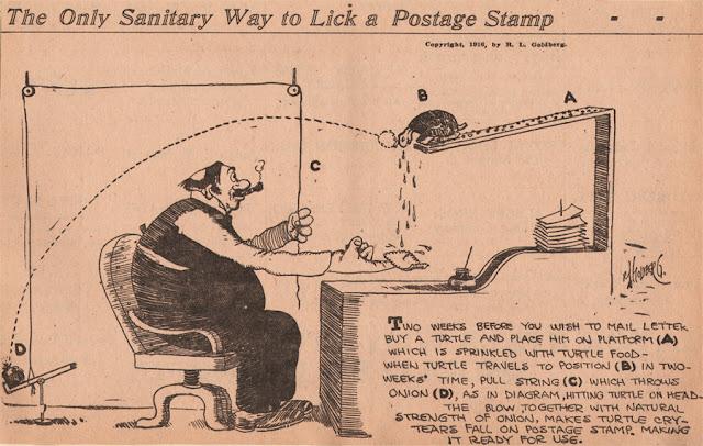 postage sting machine