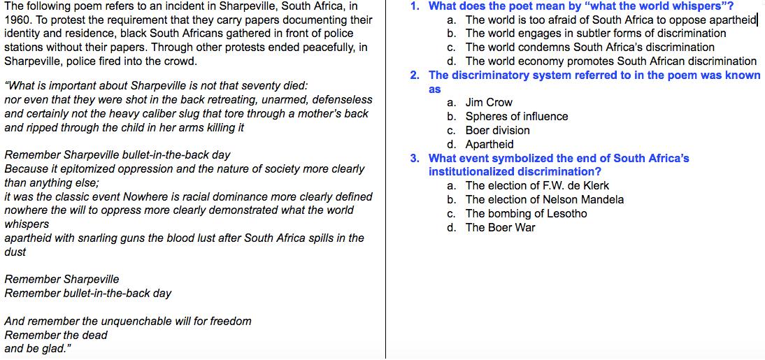 institutional discrimination essay