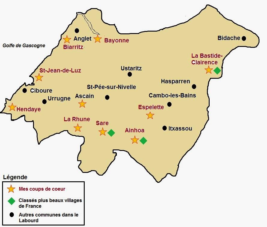 Visiter le Pays basque français et le Bearn: Le Labourd