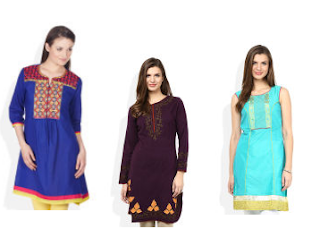 Snapdeal : Buy Gilli Kurtis And Fashion Accessories at Flat 81% off BuyToEarn