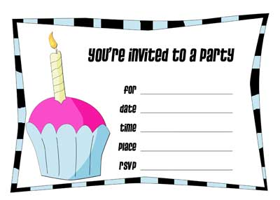 It is a photo of Soft Invitation Maker Printable