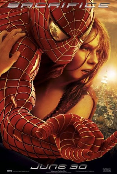 Poster Of SpiderMan 2 (2004) 720p BRRip Hindi Dual Audio Full Movie