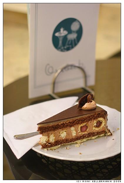 Peacock Eye cake Pfauenauge-Torte