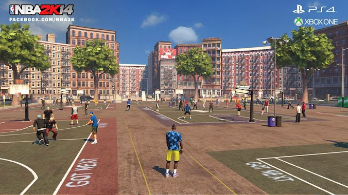 NBA 2k14 Next-gen MyCareer- The Park