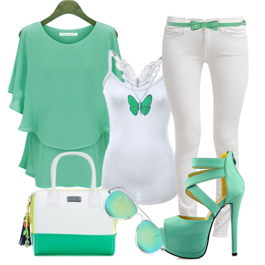 Spring And Summer Outfits Designs #3.