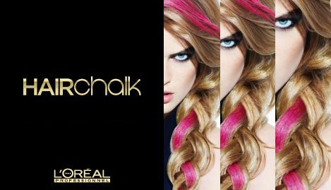 loreal hair chalk