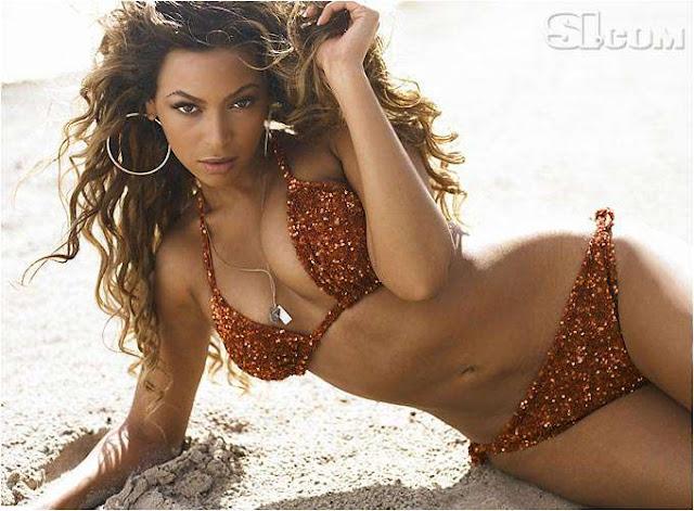 Beyonce Knowles sexy in bikini