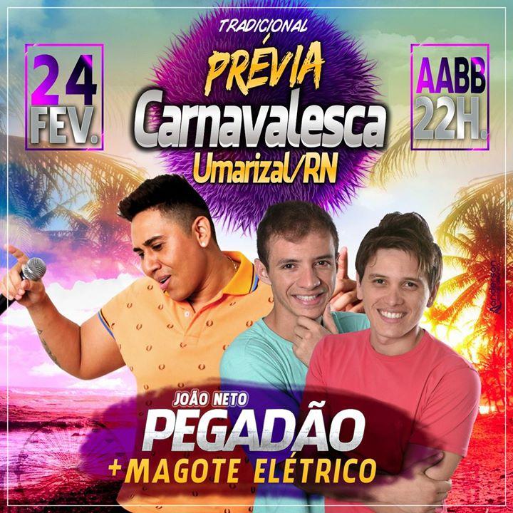 PRÉVIA CARNAVALESCA DE UMARIZAL-RN