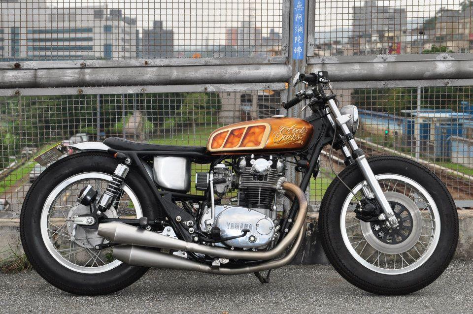 Yamaha Xs650 Bratstyle