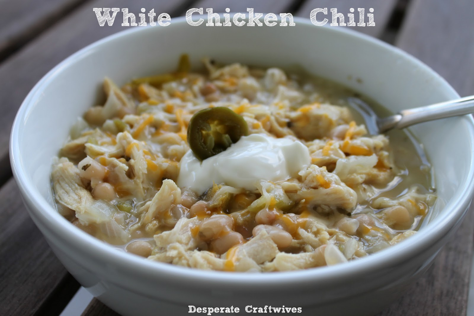 Desperate Craftwives: The Best White Chicken Chili
