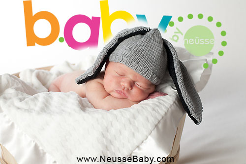 Lehigh Valley newborn baby portrait by Neusse Photography