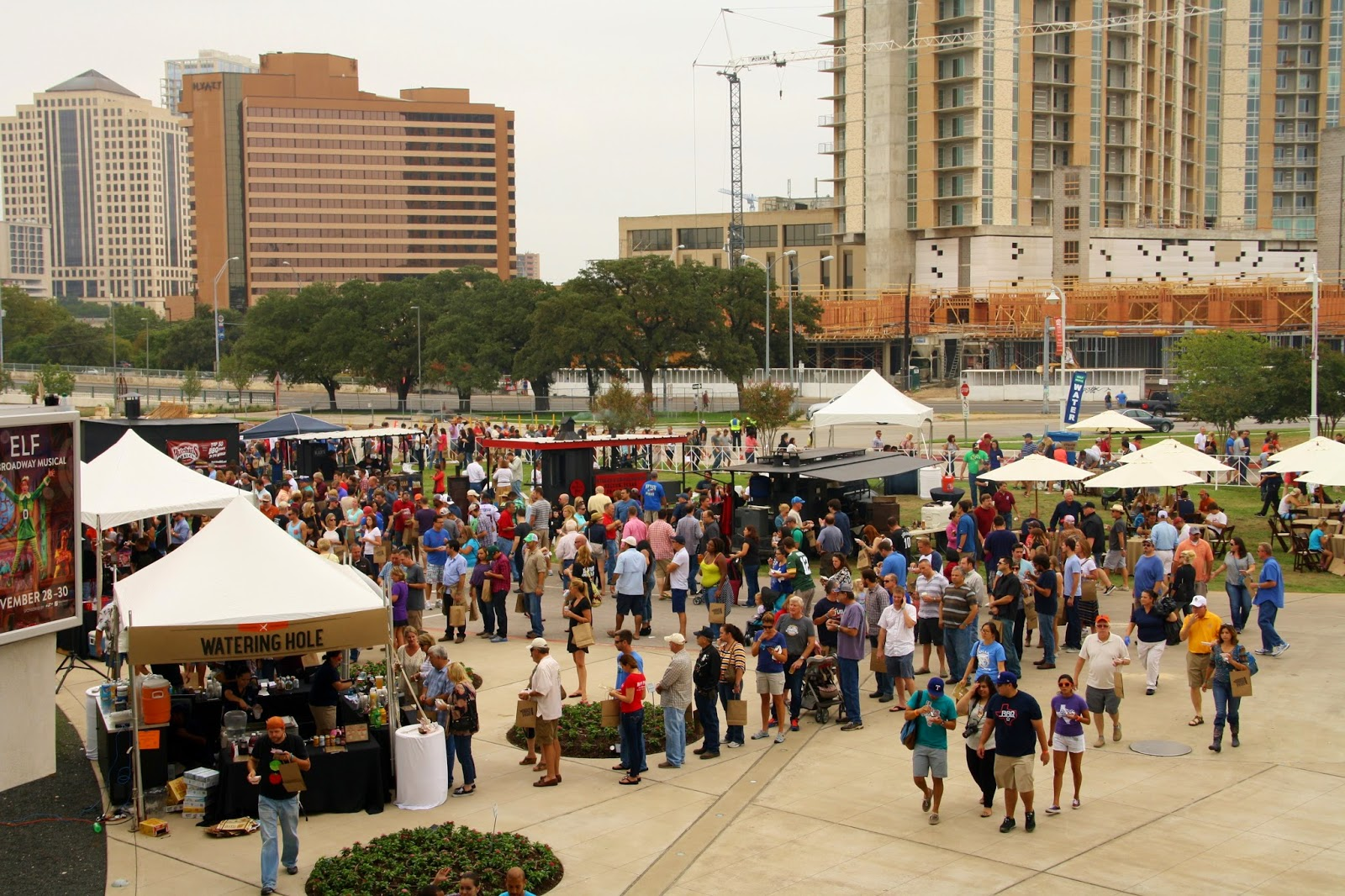 A view of the lower level of TMBBQ Fest 2014