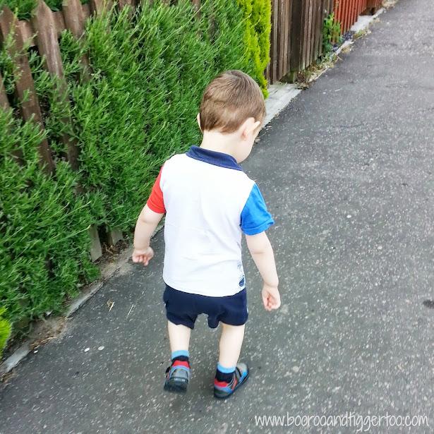 Boo Roo and Tigger Too: Tigger - First walk to nursery