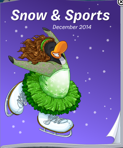 Club Penguin Snow & Sports Catalog Cheats December 2014