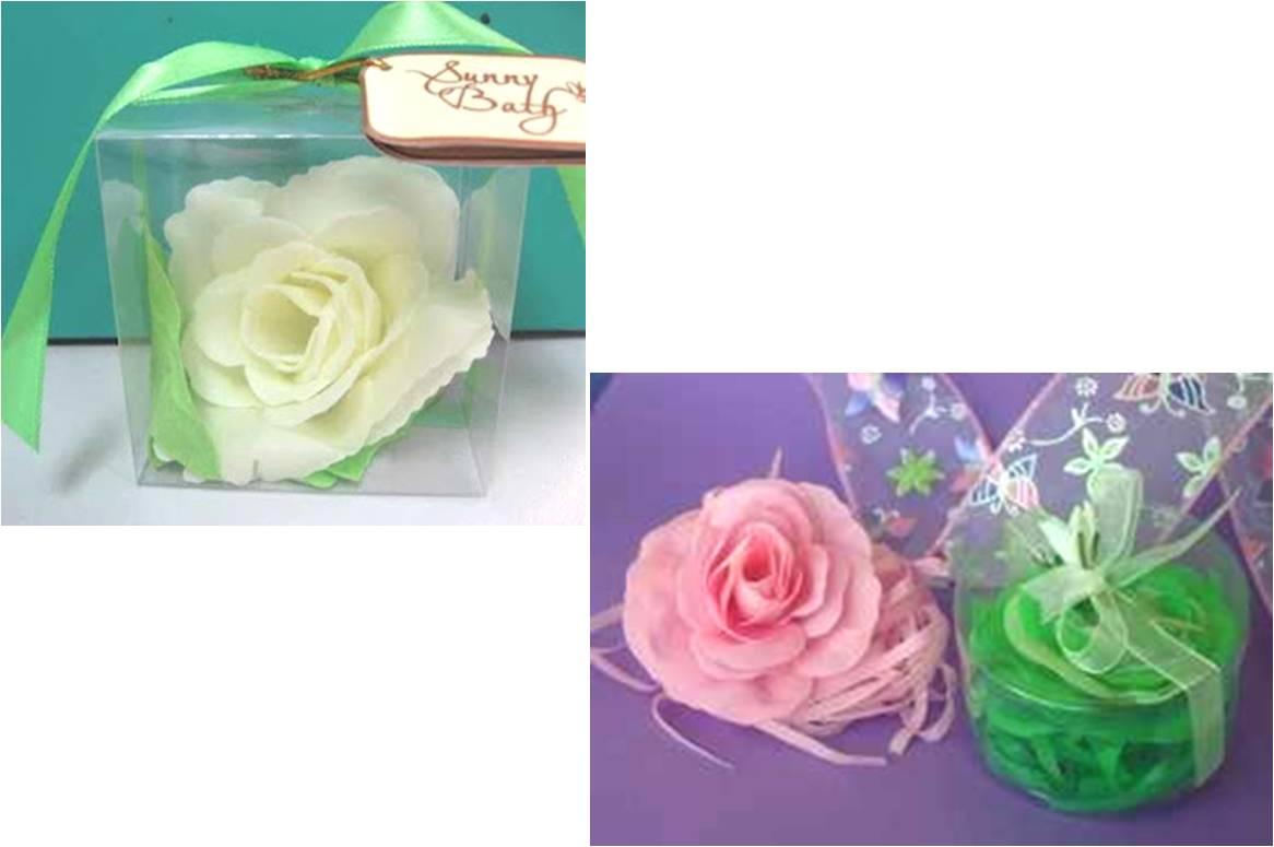 Arte Color Como hacer rosas con Jabon de tocador