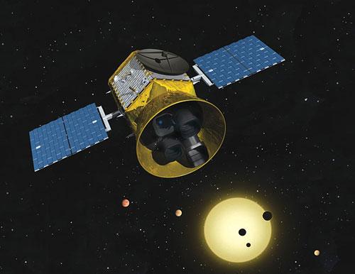 transiting exoplanet survey satellite ile ilgili görsel sonucu